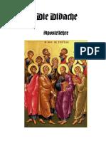 Die Didache - - Apostellehre