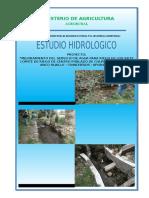 2.0 ESTUDIO HIDROLOGICO......Anco Huallo