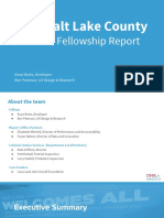 2016 Salt Lake County Year-End Fellowship Report