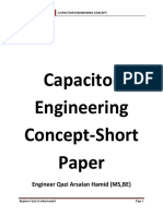 Capacitor Engineering Concept Paper
