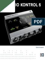 Komplete Audio 6 Manual Spanish