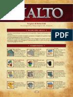 Regolamento Rialto - Regole in italiano per Rialto - Pegasus Spiele