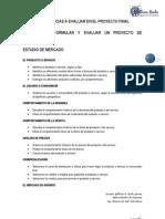 Competencias a Evaluar en El Proyecto Final