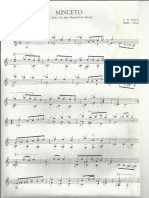 Minueto Gm - Ana M. Bach