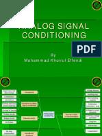 Bab II Analog Signal Conditioning