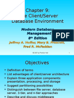 Chap09 - The Client-Server Database Environment