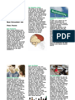 brain development and public policy brochure