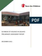 Galkaio Rapid Assessment Report