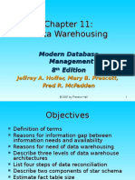 Chap11 - Data Warehousing