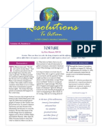February 2007 Resolutions to Action Leadership Conference of Women Religious