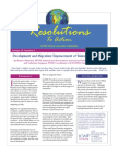 November 2006 Resolutions to Action Leadership Conference of Women Religious