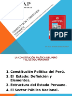 TEMA I Constitucion Del Peru y Su Contenido I