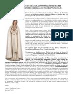 Consagração Ao Imaculado Coração de Maria Das Missões Cristo Rei e Rejeição Do Concílio Vaticano II