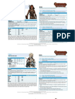 pathfinder PACG Sheets CD Bard
