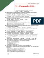 TP N1-Commandes DOS