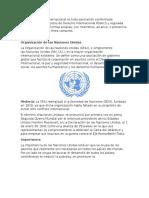 Organizaciones Internacionales Primera Parte