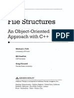 File Structures an ObjectOriented Approach With C