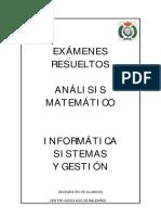 (eBook - PDF)[Matematicas] Examenes Resueltos Analisis Matematico