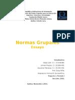 Normas Grupales Ensayo