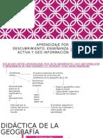 D. Cs Sociales II- Didactica de La Geografia