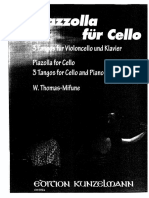 3 Tangos for Cello and Piano