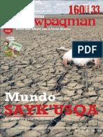 Conosur Ñawpaqman Nº 160 Oct. 2016
