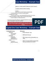 Capital One Case Prep