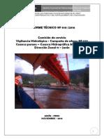 Informe Nº010 - Comiision de Aforos Cuenca del Perene -Octubre 2016