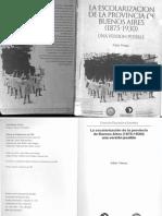 Pineau La Escolarizacion de La Provincia
