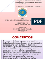 Fases de Demostracion de Las Buenas Practicas Agropecuarias