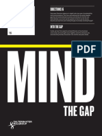 Mind The Gap from Salterbaxter MSLGROUP