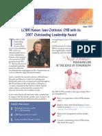 June 2007 Leadership Conference of Women Religious Newsletter