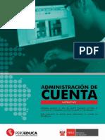Administración de Cuenta PERU EDUCA