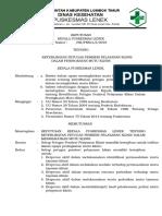 8.7.2.3 Sk Tentang Keterlibatan Petugas Pemberi Layanan Klinis