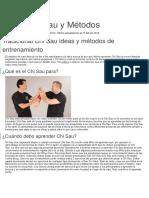 Datos Chi Sau y Métodos