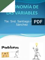 Taxonomia de Las Varibles