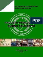 Projeto Pedagógico Curso de Direito