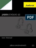 Jabra Evolve 65 Manual