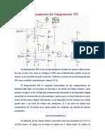Funcionamiento de Temporizador LM555CM(PRACTICA)