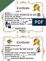 Certificados Rafael k