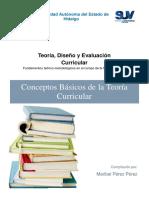 LEC 1.7 Conceptos Basicos de La Teoria Curricular