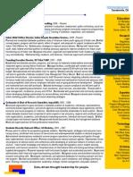 Zenone 1page Resume 2010 Online
