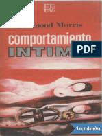Comportamiento Intimo - Desmond Morris