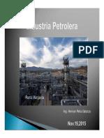 Industria Petrolera 2015 Modo de Compatibilidad