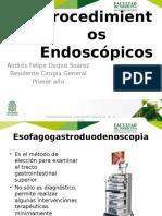 Procedimientos endoscopicos