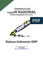 Pembahasan Soal UN Bahasa Indonesia SMP 2013.pdf