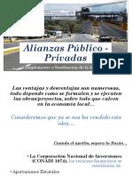 Alianza publico privada Sustituto de inversión publica