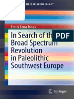 Jones 2016 in Search of the Broad Spectrum Revolution in Paleolithic Southwest Europe