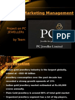PC JEWELLERS Analysis