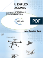 RPAS y su empleo en agricultura